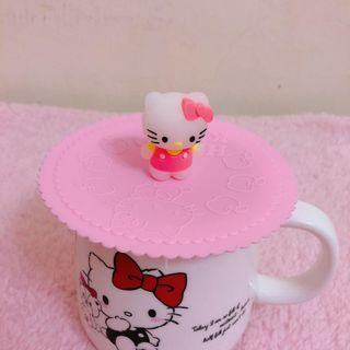 Hello Kitty Silicone Lid (Pink / Purple)