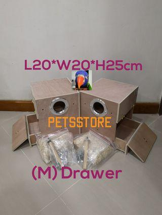 (M) Nest box with drawer