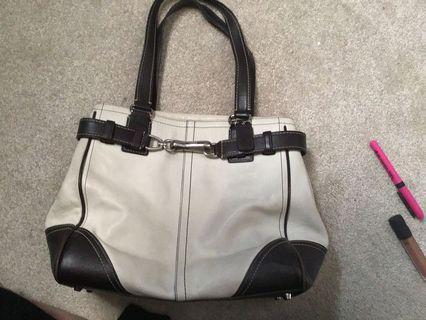 Leather Coach purse. Rarely used