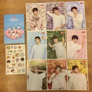 Nine Percent - LiBai Postcards Set