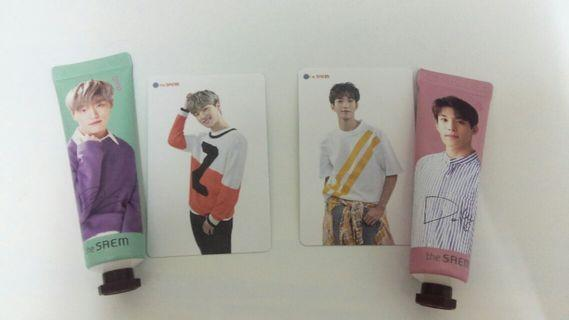 SEVENTEEN THE SAEM HANDCREAM JAPAN DK DINO