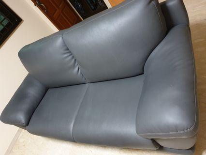 Leather Sofa (Green)