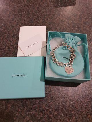Tiffany and Co heart tag Bracelet