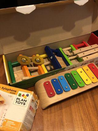 PL Plan Toys & Pin Toy Musical Instruments