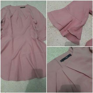Fame dress pink