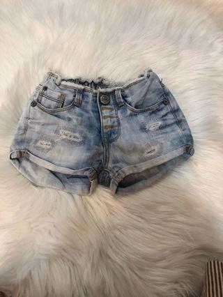韓國 童裝 牛仔短褲 moadenim 3號