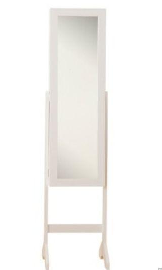 座地連身鏡(內含首飾櫃)