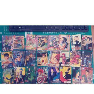 售或交換 幽遊白書 萬代 BANDAI 收藏卡 日版 港版 萬變卡 戰鬥卡 卡 卡片 收集卡 珍藏卡 每張10元