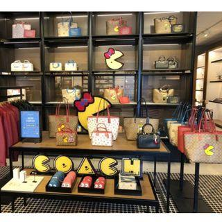 limited-edition Coach x Pac-Man Collection