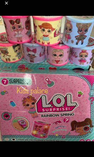 Instock new arrival lol surprise kids surprise rainbow spring brand new price for one pc