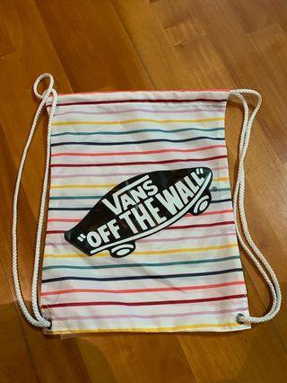 Vans bag 索繩袋 要接受小瑕疵 特價優惠發售
