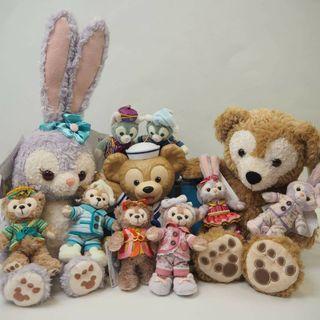 Duffy &friends公仔 (圖入面全部都仲有)