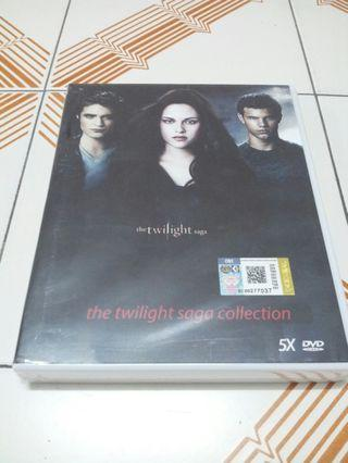 Boxset Dvd The Twilight Saga Collection (5 disc)