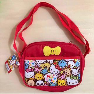 🚚 BN 👩🏻🏫SANRIO👩🏻🏫 Girls' Hello Kitty Children/ Kids' School/ Sling/ Lunch Bag