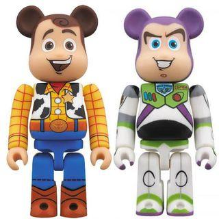 徵收 wanted 400% bearbrick be@rbrick toy story woody buzz