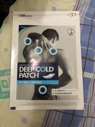 曼秀雷敦Deep Cold Patch1包5片