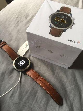 Fossil gen 3 smartwatch (more pics) brown leather