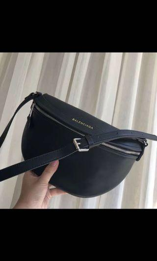 balenciaga waist bag/messenger bag FAUX