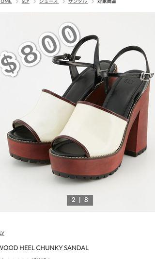 Sly new in sandal 代購