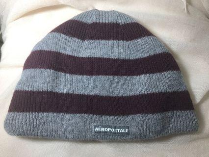 (New)Aeropostale -wool/cashmere 帽子(男女均可)