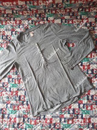 BKK grey oversized shirts