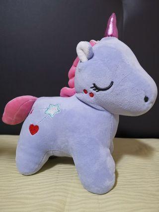 Pastel purple Unicorn Soft Toy