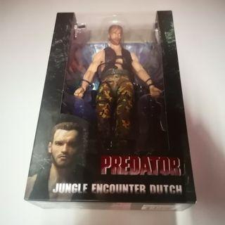 全新 7吋 鐵血戰士 JUNGLE ENCOUNTER DUTCH figure 盒裝 (包順豐)