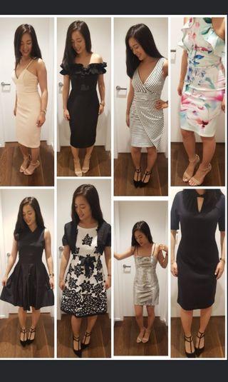 8 Pre-loved dresses