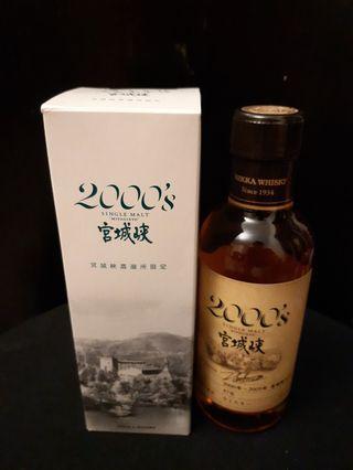 宮城峽蒸餾所限定原酒180ml