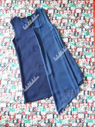 BKK blue mini dress
