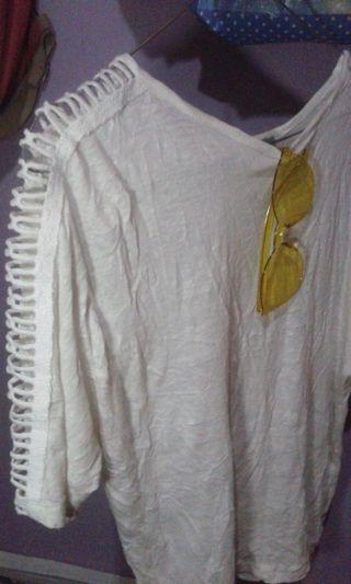 Obrall!! | White Blouse Original Zara
