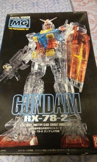 高達Gundam RX-78 MG 彩透Crystal Version
