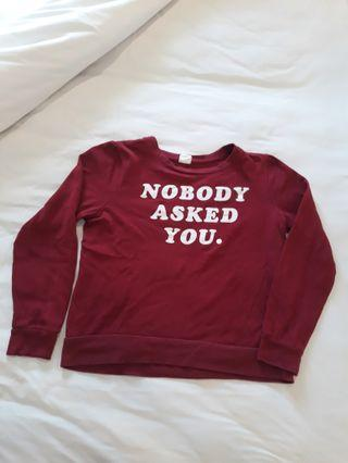 Sweatshirt tumblr bkk