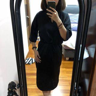 Amygo x Malvava Spencer Dress Black #BAPAU