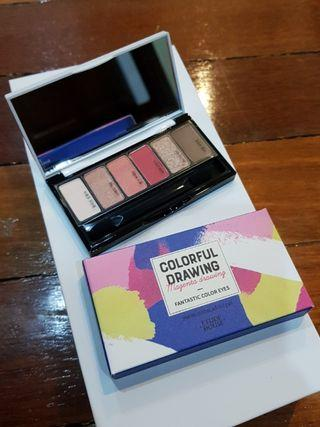 New Etude House 6-color eye shadow palette