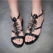 Giuseppe zanotti fishbone sandals