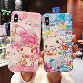 My Melody, 玉桂狗藍光iPhone Case