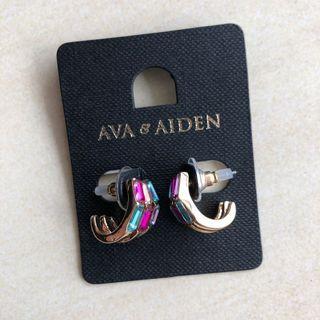 Ava & Aiden Glamour Jewels Hoop Earring