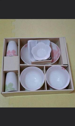 BN Japanese dish set
