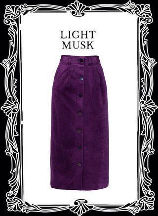 🚚 Dresseum 淡淡的麝香 紫 L