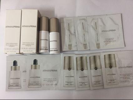Armani prima samples