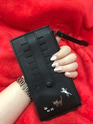 Card holder wallet - dompet kartu resleting AMAN