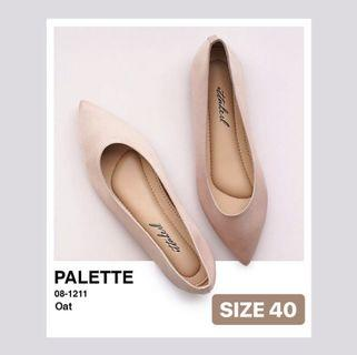 Ittaherl Palette Pointy Shoes Oat Size 40