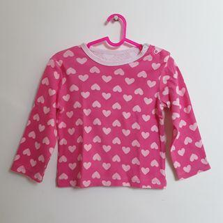 #BAPAU Baju Bayi Lengan Panjang Carters