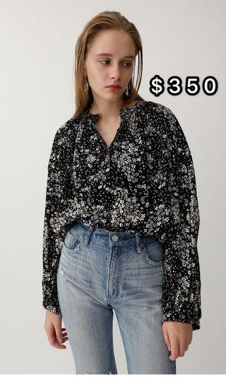 Moussy top 代購 free size