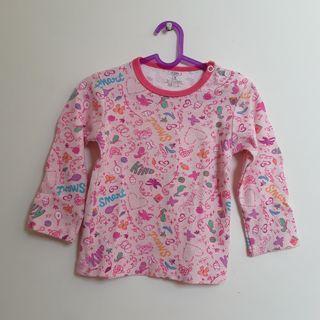 #BAPAU Baju Bayi Lengan Panjang Carters 01