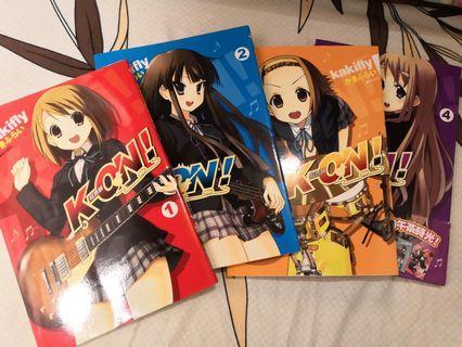 K-ON 輕音少女 繁體版漫畫