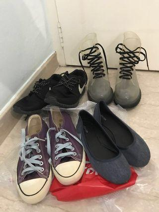 Free T & C sneakers rain boots