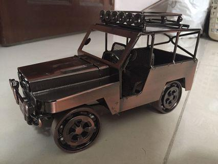 Vintage Hand Crafted Classic Trucks Vehicles Copper & Steel for decoration