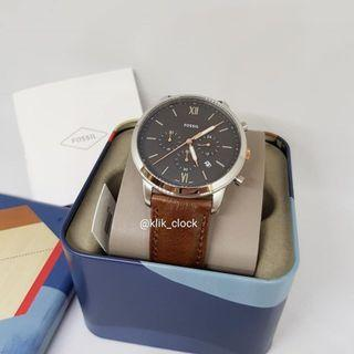 🚚 ** Dashing SALES ** Fossil Neutra Chronograph Light Brown Leather Watch FS5408